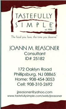 Tastefully Simple - Phillipsburg NJ